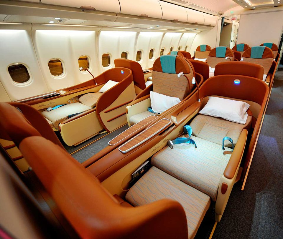 Business Class seat named as best in the world again | Oman Air