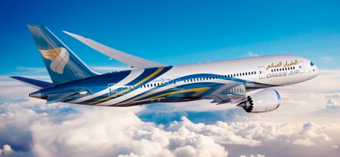 Oman Air 787 ArtworkK65483