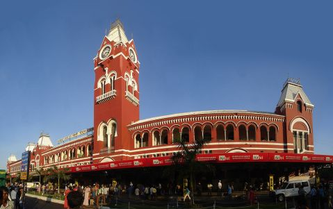 Chennai Central Station (Google Images)