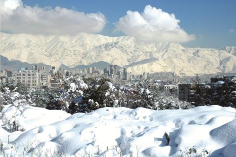 Tehran Snow